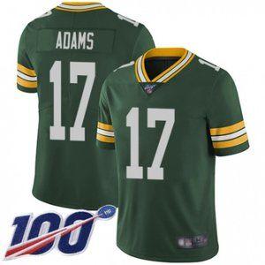 Packers Davante Adams 100th Season Jersey
